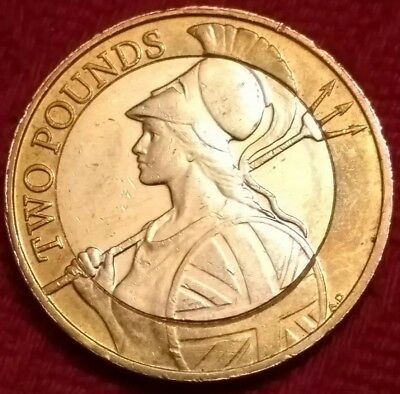 2015 £2 coin *RARE* (1 of only 650,000) FIRST NEW BRITANNIA two pound, Next Kew?