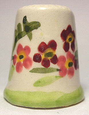 Beautiful Franciscan Pottery Thimble from FM World's Greatest Porcelain Houses