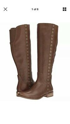 de7db76291fd MICHAEL MICHAEL KORS Women s Janice Tall Suede Taupe Boots Size 8 ...
