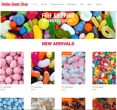Sweets Business for sale | Wholesale Suppliers | Very Profitable £500+ Week