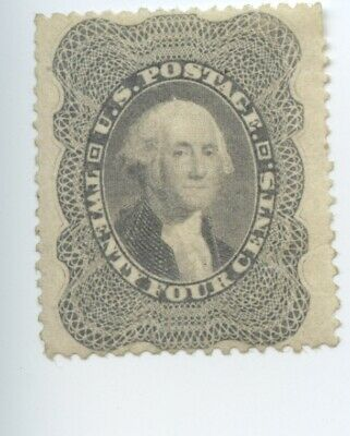 USA Scott #37 - 24c Postage Stamp, Washington, Mint