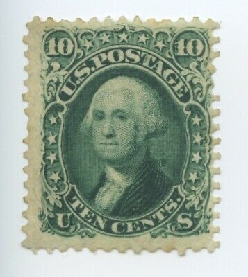 USA Scott #68 - 10c Postage Stamp, Washington, Mint