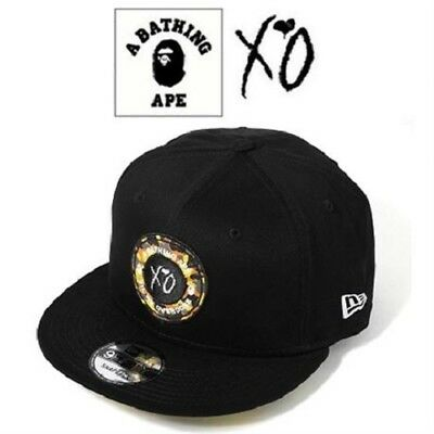 New With Tags Bape X The Weeknd Xo Limited Edition New Era 9Fifty Snap Back  Cap 6228f1d94f08