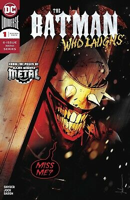 Batman Who Laughs #1 (Of 6) Dc Comics Near Mint 12/12/18