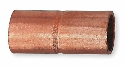 "Nibco Wrot Copper Coupling, Rolled Tube Stop, C x C Connection Type, 4"" Tube"