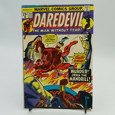 Daredevil (Vol.1) #112 Marvel Comics Steve Gerber F-