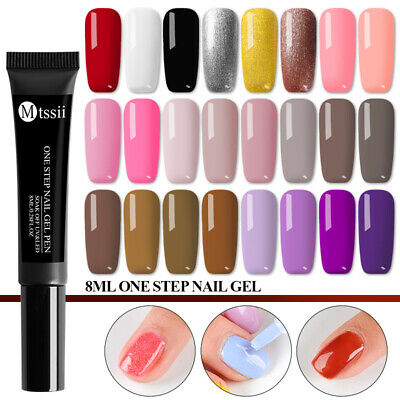 One Step Gel Lacquer Painting Varnish Pen 3 In 1 Nail Gel Polish UV/LED MTSSII
