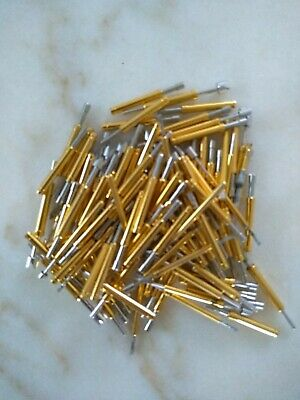 82 Gram Lot gold/silver plate pins for scrap recovery
