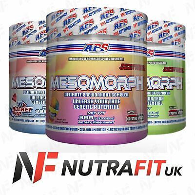APS MESOMORPH PRE-WORKOUT 388g original formula USA version creatine nitrate