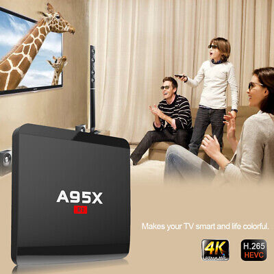 A95X R1 Smart Android TV Box Android 7.1 RK3229 Quad Core UHD 4K PC WiFi Player