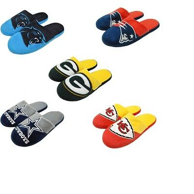Forever Collectibles NFL Men's Colorblock Slide on Slippers - Pick Your Team