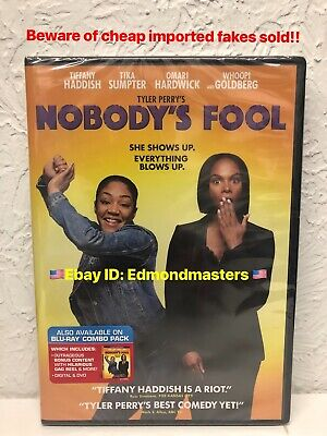 Nobody's Fool 2019 DVD Tiffany Haddish BRAND NEW, BEWARE OF CHEAP FAKES SOLD!!!