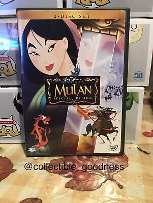 Disney's Mulan (DVD, 2004, 2-Disc Set, Special Edition)
