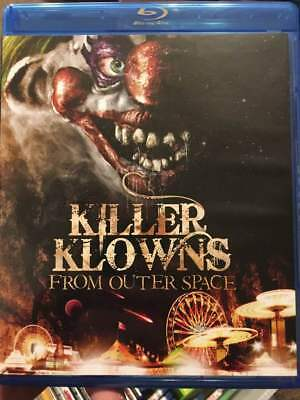Killer Klowns from Outer Space Blu-Ray No DVD/Digital/Slip Like New Combine Ship