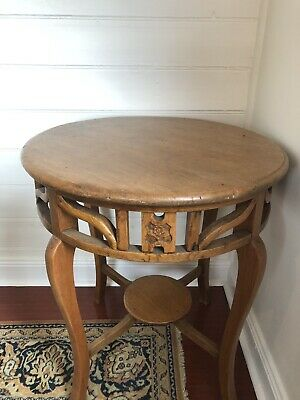 Antique Table With Fantastic Patina - Subtle Oriental Style