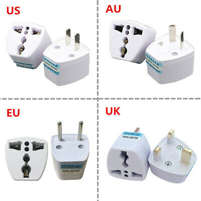 Universal US UK AU To EU Plug USA To Euro Europe Travel Wall AC Power Charger 1X