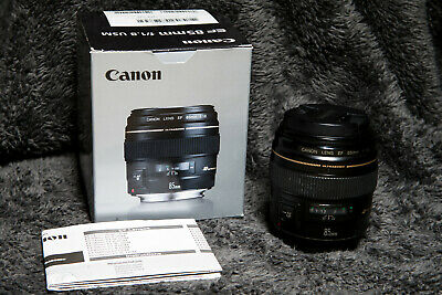 Canon EF 85mm f/1.8 USM Lens  |  Used  | Excellent Condition