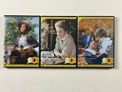 ANNE OF GREEN GABLES TRILOGY (DVD, 1985, 3-Disc Set)