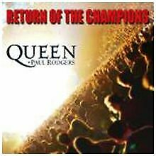 Return of the Champions-Live von Queen, Paul Rodgers | CD | Zustand sehr gut