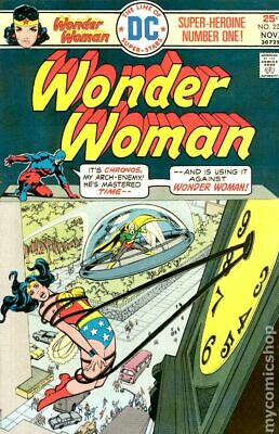 Wonder Woman (1st Series DC) #220 1975 VG Stock Image Low Grade