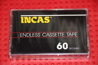 Incas  60 Seconds  Blank Endless Cassette Tape (1) (Sealed)