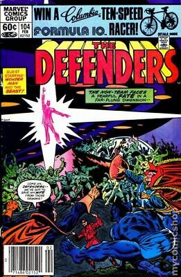 Defenders (1st Series) #104 1982 VG Stock Image Low Grade