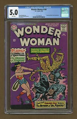 Wonder Woman (1st Series DC) #160 1966 CGC 5.0 1571258023