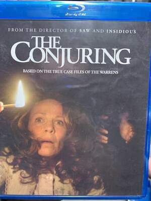 Conjuring, The Blu-Ray No DVD/Digital/Slip Like New FAST FREE Combine SHIPPING