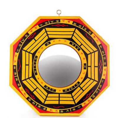 Chinese Style Retro Feng Shui Bagua Concave and Convex Mirror Decor 8C