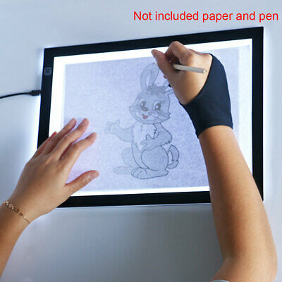 LED Tracing Light Box Board Art Tattoo A3 Drawing Copy Pad Table+USB Cable