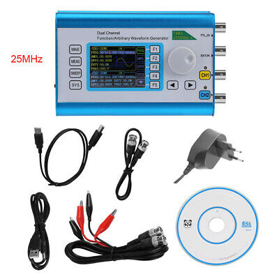 FY2300H Function Arbitrary Waveform Generator Dual Channel Signal Meter 250MSa/s