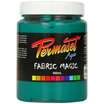 Permaset Aqua Supercover 300ml Fabric Printing Ink - Green - Screen