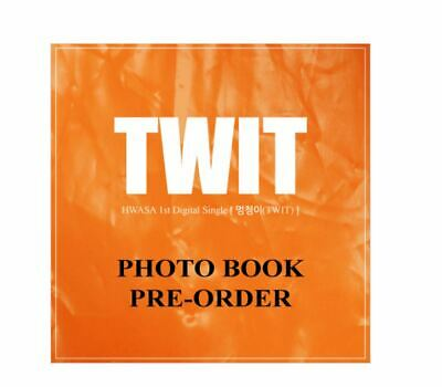 [MAMAMOO] Hwa Sa TWIT PHOTOBOOK 1st Digital Single LIMITED EDITION With Tracking