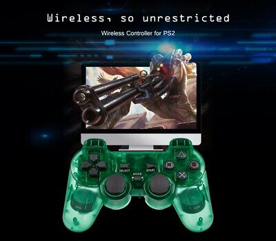 Wireless Controller Joypad Joystick Gamepad Double Vibration Receiver for PS2
