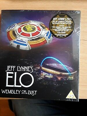 Jeff Lynne's ELO - Wembley or Bust (CD / DVD 2017) NEW SEALED OFFICIAL
