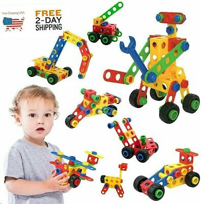 75 PCS Educational Construction Toys Learning Set for Kids