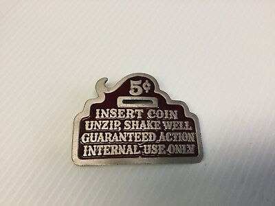 Humor funny ADULT 1979 THE GREAT AMERICAN CHICAGO Pure Pewter belt buckle