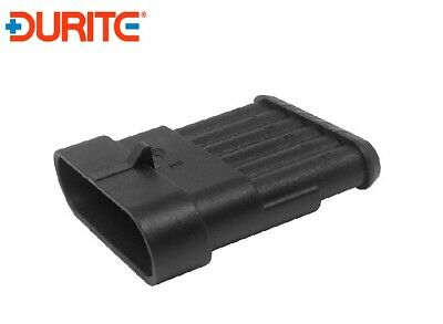 4 WAY 6.3MM MALE BLADE HOUSING MULTIPLE CONNECTOR 0-011-05
