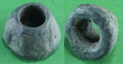 Beautiful Ancient Celtic Bronze Bead - 100Bc/100 Ad - Rare