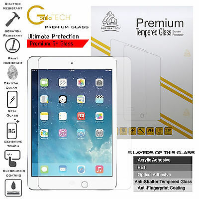 """Tempered Glass Touch Screen Protector Shield Guard For Apple-iPad 9.7"""" (2018)"""