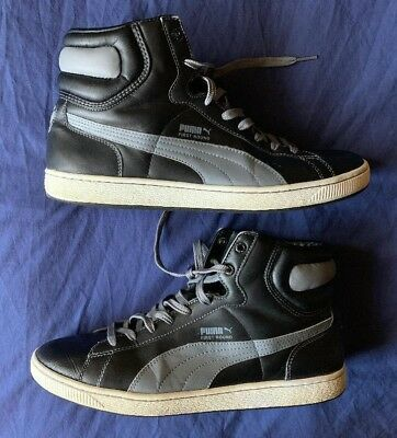 4d021d12b460 MEN S VINTAGE PUMA first round high tops black gray size 13 -  49.99 ...