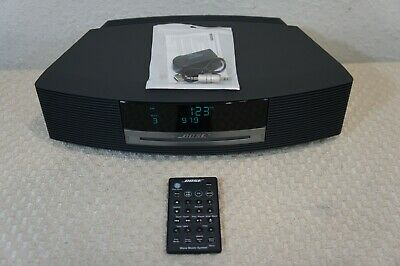 Bose Wave Music System Awrcc1 With Remote Control + Bluetooth Adapter