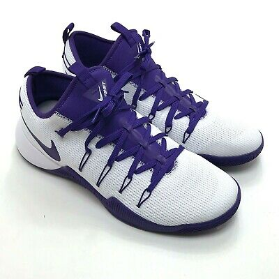 4a6b7b6cb82a NEW NIKE HYPERSHIFT TB Promo Shoes Purple White Sz Men s 14.5 ...