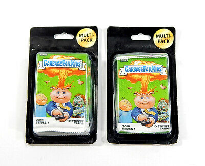 Lot of (8) 2014 Topps Garbage Pail Kids Series 1 Trading Card Packs