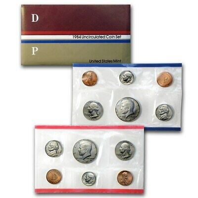 1984 US 10 Piece Mint Set in original packaging from US mint Uncirculated