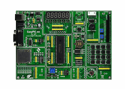 PIC Development Board easyPIC-40 + PIC16F877A Experiment Develop Board 2