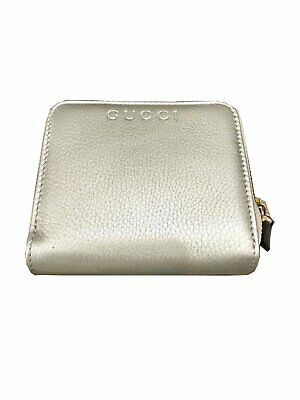 e5eaa12fcc7e GUCCI WOMEN'S MARIGOLD Leather Continental Flap Wallet Large 231839 ...