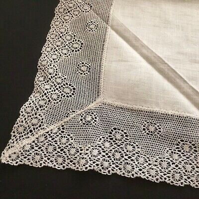 Vintage / Antique Lace Handkerchief ~ Very Pretty For Wedding Etc