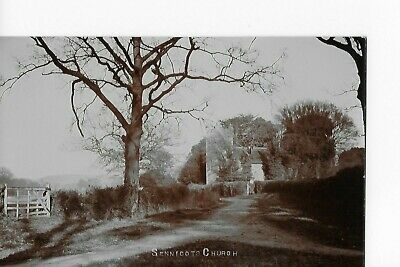Collectable Postcard of  Sennicots Church. Hampshire..