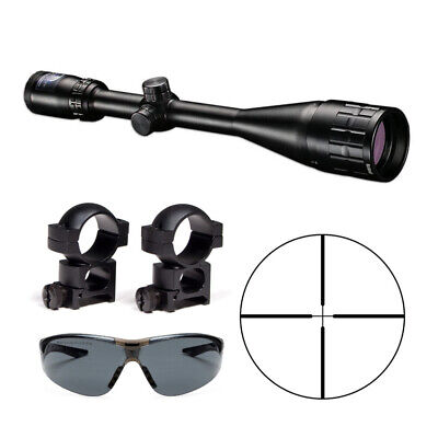 Bushnell Banner Dusk & Dawn 6-18x50mm Riflescope with Rings and Shooting Glasses